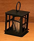 Made in USA Sailboat Themed Steel Candle Lantern