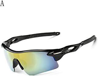Gusspower, occhiali da sole sportivi, con protezione UV 400, adatti per il ciclismo e lo sport all'aria aperta, a adatti per il ciclismo e lo sport all'aria aperta
