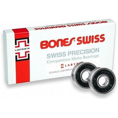 Bones 'Swiss Labyrinth 2' Bearings. x8.
