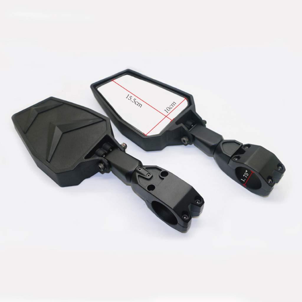 Homyl 1 Par de Espejo Lateral Plástico ABS + vidrio para Motcocileta Facíl Instalar: Amazon.es: Coche y moto