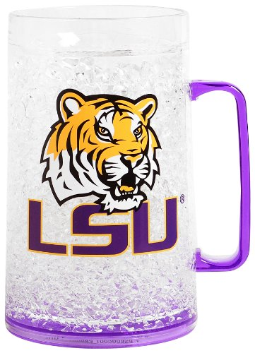 NCAA Louisiana State Tigers 38oz Crystal Freezer Monster Mug