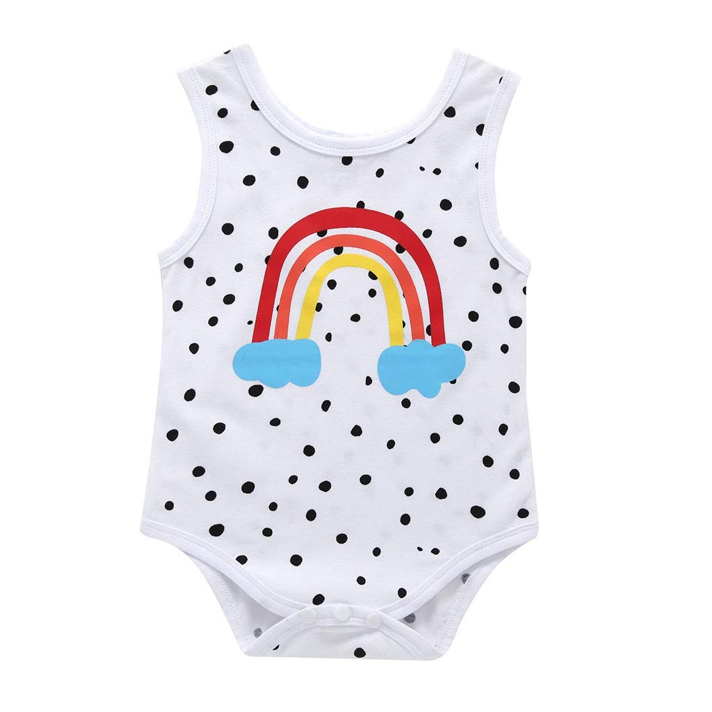 Baby Romper Yamally Infant Baby Boys Girls Clothing Jumpsuit Funny Letter Printed Onesie