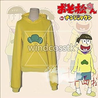 おそ松さん 松野十四松 パーカー 風 コスプレ衣装 オーダー自由 ディズニークリスマス、ハロウィン