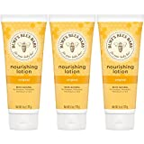 Burt's Bees Baby Nourishing Lotion, Original, 6 Ounces (Packaging May Vary), pack of 3