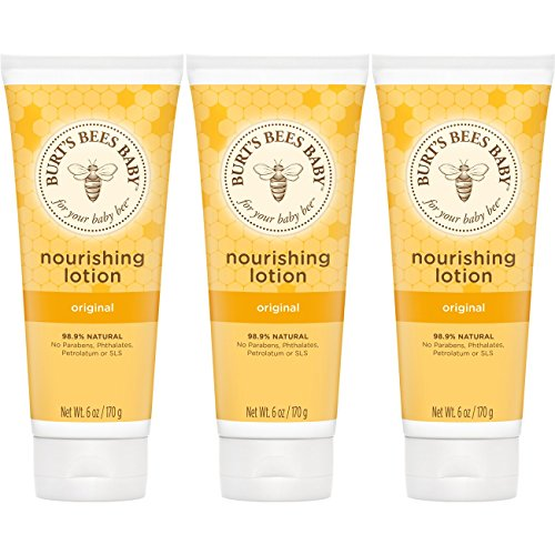 - Burt's Bees Baby Nourishing Lotion, Original, 6 Ounces (Packaging May Vary), pack of 3