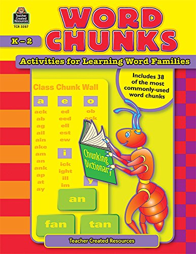 Word Chunks: Activities for Learning Word Families (Teaching Chunks Of Languages)