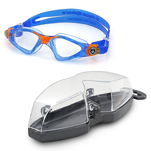 Aqua Sphere Kayenne Junior Swim Goggle, Made In Italy