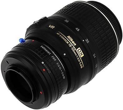 Fotodiox Pro Lens Mount Adapter V1 J1 Mamiya 645 Lens Does NOT Work with Mamiya 645 Digital Auto-Focus or Phase 1 Lenses Nikon 1 Series Mirrorless Camera