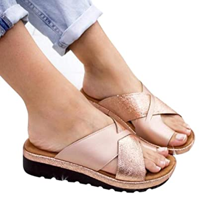 Corrector De Juanetes Mujer Sandalia Juanetes Corrección Reducen El Dolor De Juanetes Sandalia De Cuña De