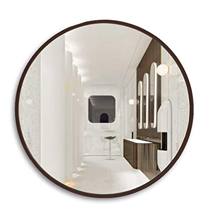 Remarkable Mirrors Mirror Bathroom Bathroom Mirror Makeup Mirror Toilet Bathroom Mirror Wall Hanging Mirror Large Round Mirror Decorative Mirror Color Brown Download Free Architecture Designs Sospemadebymaigaardcom