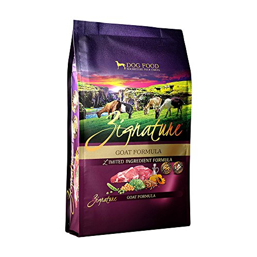 Zignature Goat Formula Dry Dog Food, 4 Pounds
