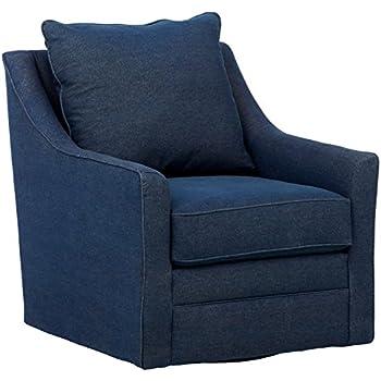 Groovy Amazon Com Madison Park Harris Swivel Chair Grey See Below Short Links Chair Design For Home Short Linksinfo