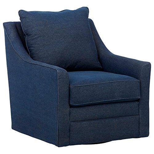 Stone & Beam Larkin Swivel Chair, 30