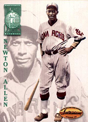 NEWT ALLEN KANSAS CITY MONARCHS 1994 Ted Williams Card Co. #100 Newton Henry