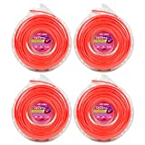 Cyclone Desert Extrusion CY155D1 .155'' x 105' Commercial Line Red [12/Case] (4-Pack)