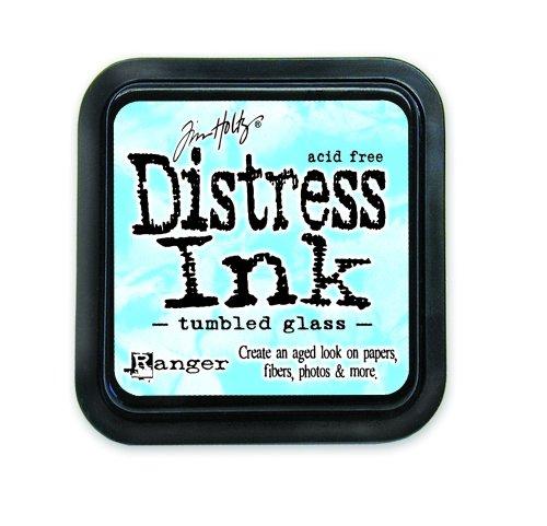 - Ranger DIS-27188 Tim Holtz Distress Ink Pad, Tumbled Glass