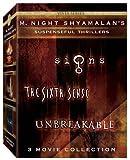 M. Night Shyamalan Vista Series Collection (The Sixth Sense/Signs/Unbreakable) by Buena Vista Home Entertainment by M. Night Shyamalan