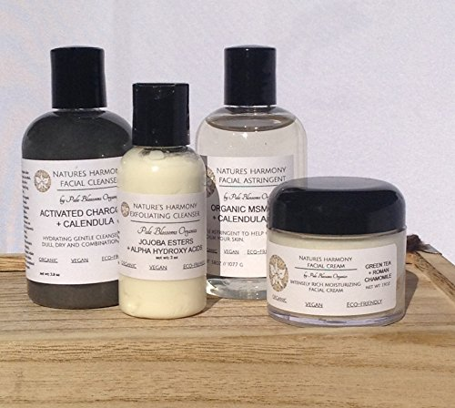 Nature's Harmony Full Facial Care System by Pale Blossoms Organics