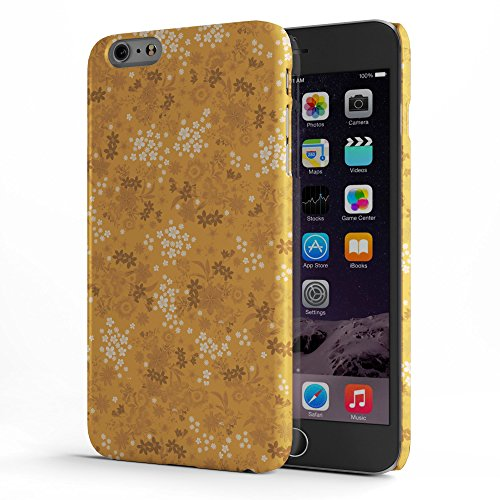 Koveru Back Cover Case for Apple iPhone 6 Plus - Orange Printed Pattern