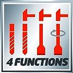 Einhell-TH-RH-1600-Martello-perforatore-4-Funzioni-Rosso