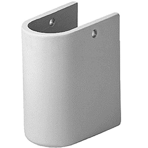 Duravit 0865150000 Starck 3 Siphon Cover, White Finish by Duravit