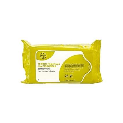 Bayer Sano & Bello Pack de 35 Toallitas Limpiadoras con Cidronela - - 1 Pack de