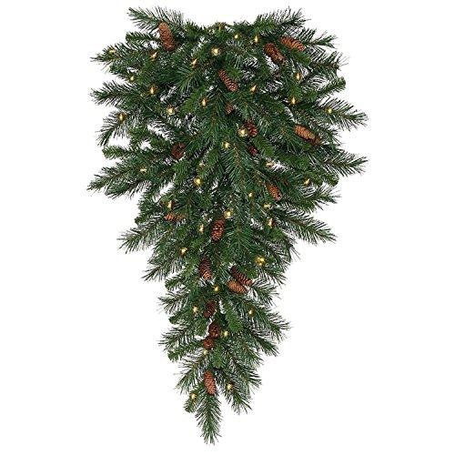 """Vickerman 42"""" Pre-Lit Cheyenne Pine Artificial Christmas ..."""