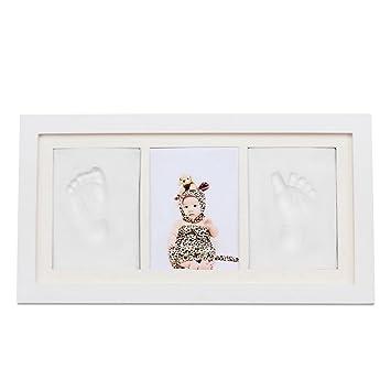Amazon.com : BabyIn PRECIOUS BABY handprint and Footprint Frame Kit ...