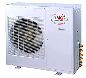 YMGI Tri Zone - 36000 BTU 3 Ton 21 SEER (9K+9K+18K) Wall Mount plus Ceiling Suspension Ductless Mini Split Air Conditioner with Heat Pump for Home, Office, Apartment