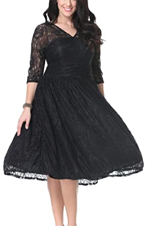 Abendkleid schwarz gr 50