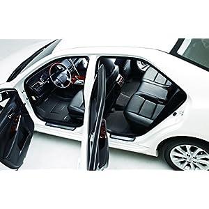 3D MAXpider Complete Set Custom Fit All-Weather Floor Mat for Select Honda Accord Models - Kagu Rubber (Black)