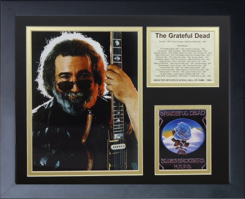 (Legends Never Die Jerry Garcia Framed Photo Collage, 11 by 14-Inch)