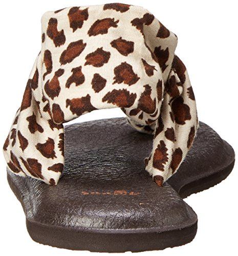 Sanuk Frauen Yoga Sling 2 Flip Flop Brauner Gepard