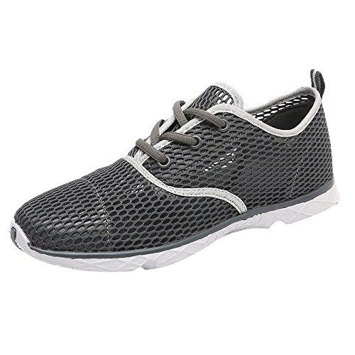 Sherostore ♡ Mens Water Shoes Outdoor Hiking Sandals Aqua Quick Dry Barefoot Beach Sneakers Swim Boating Fishing Yoga Gym