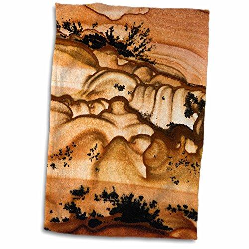 (3D Rose USA-Oregon-Biggs Picture Jasper Stone-Us38 Bja0728-Jaynes Gallery Hand/Sports Towel 15 x 22)