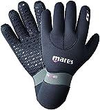 Mares Erwachsene Taucherhandschuhe Gloves FLEXA FIT 6.5 mm, Schwarz, M, 412717