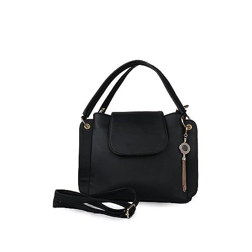 Roseberries Women sling bag Black Color  Amazon.in  Shoes   Handbags 6013e27e6be80