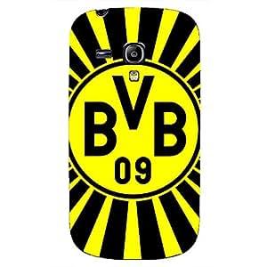 Fashion Design FC Borussia Dortmund 09 FC Phone Case Cover For Samsung Galaxy S3mini 3D Plastic Phone Case