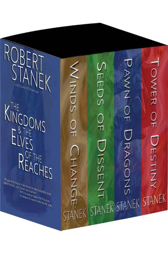 Boxed Set 10th Anniversary Edition Kingdoms and the Elves of the Reaches: Winds of Change, Seeds of Destiny, Pawn of Dragons, Tower of Destiny (Keeper Martin's Tales) (Seeds Of The Kingdom)