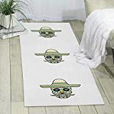 GDBADY Skullcap Domestic Sitting Room Bedroom Domestic Carpet