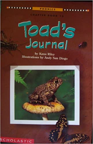 Book Toad's journal (Phonics chapter book)