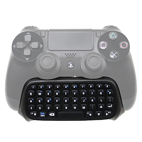 HDE-Playstation-4-Wireless-Bluetooth-Keyboard-Online-Chat-Pad-for-Sony-PS4-Dual-Shock-Controllers