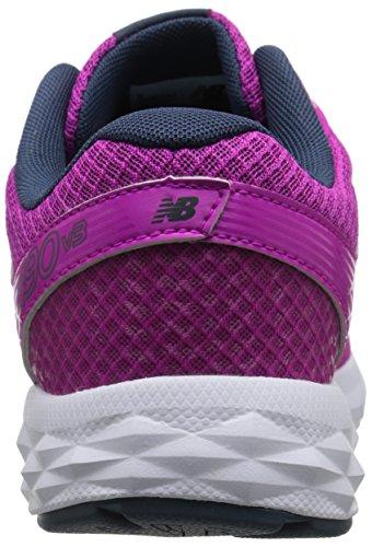 New Balance Womens W490v3 Scarpa Da Corsa Rosa / Grigio