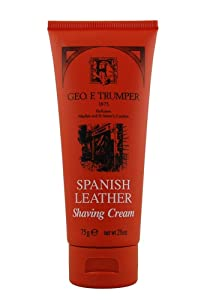 Spanish Leather Shaving Cream 75g shaving cream by Geo F. Trumper
