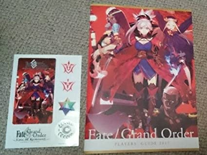 Amazon co jp | fate/grand Order FGO PLAYERS GUIDE ステッカー