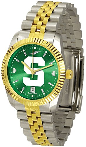 Michigan State Spartans Executive AnoChrome Men's Watch ()