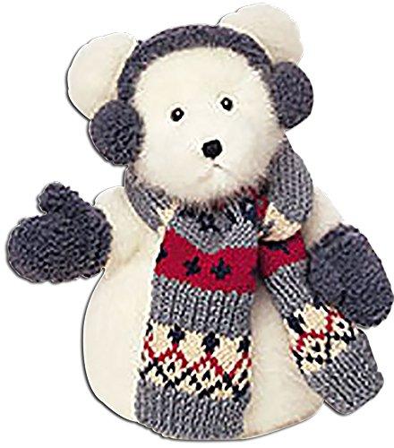 - Boyds Franz Farklefrost Plush Snowman Teddy Bear Stuffed Animal