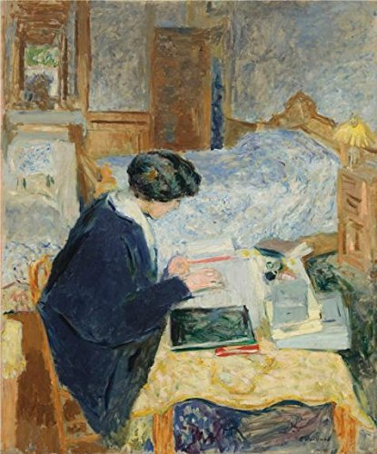 Oil Painting 'Lucy Hessel Reading,1913 By Edouard Vuillard' Printing On Perfect Effect Canvas , 30x36 Inch / 76x92 Cm ,the Best Garage Decoration And Home Artwork And Gifts Is This Best Price Art Decorative Prints On Canvas - Price Is Right Model Costume