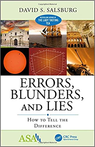 Amazon errors blunders and lies how to tell the difference errors blunders and lies how to tell the difference asa crc series on statistical reasoning in science and society 1st edition fandeluxe Gallery