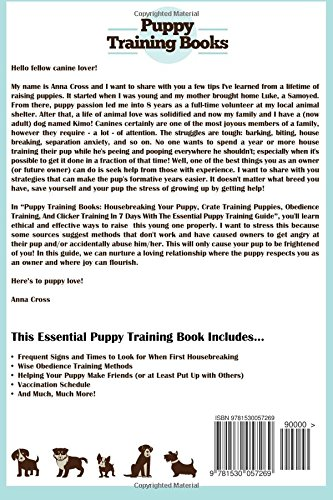 Puppy Training Books: Housebreaking Your Puppy, Crate